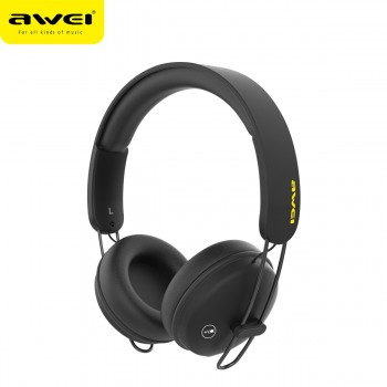 Awei A800BL Bluetooth Headphones - Μαύρο